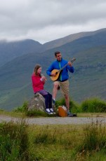 A spot of Irish music above the Black Valley