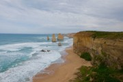 Conditions were perfect for snapping pictures at the 12 Apostles on the Great Ocean Road