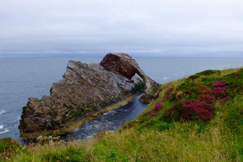 Bow Fiddle rock - Moray Coast Scotland
