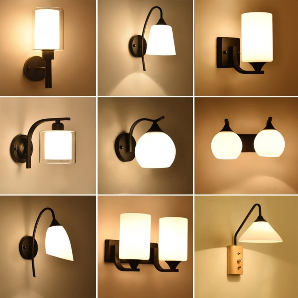 contemporary wall lamp vintage bedside