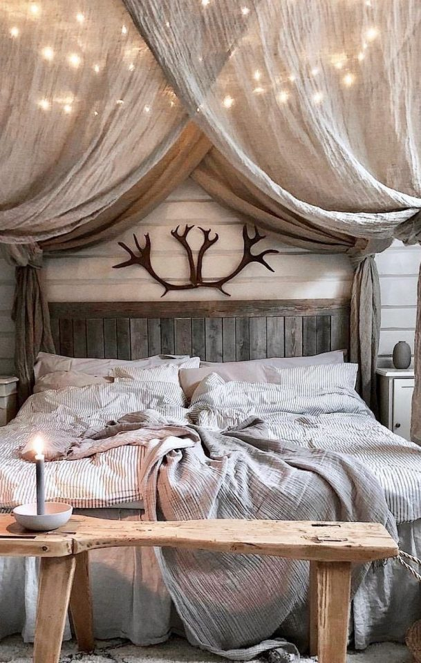 country rustic bedroom