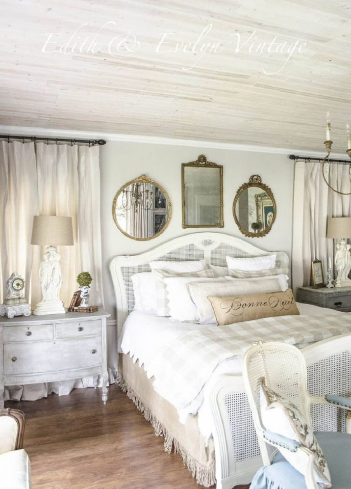 decorating french fresh country bedroom