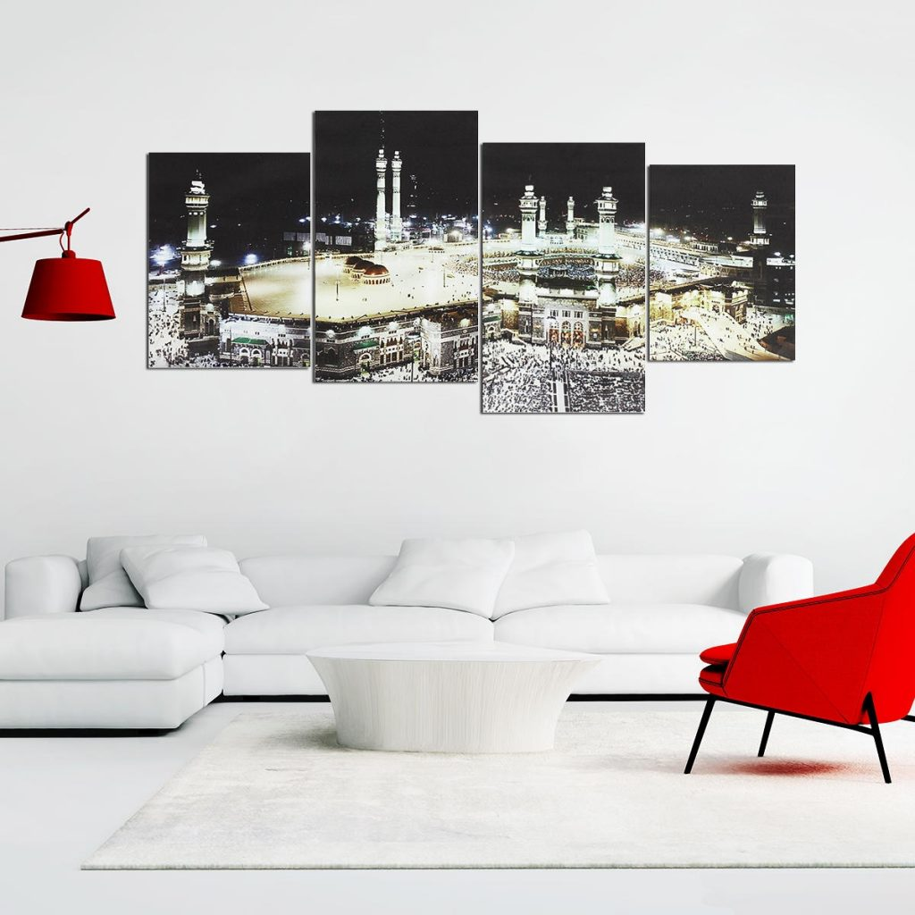 diy islamic wall art canvas home decor