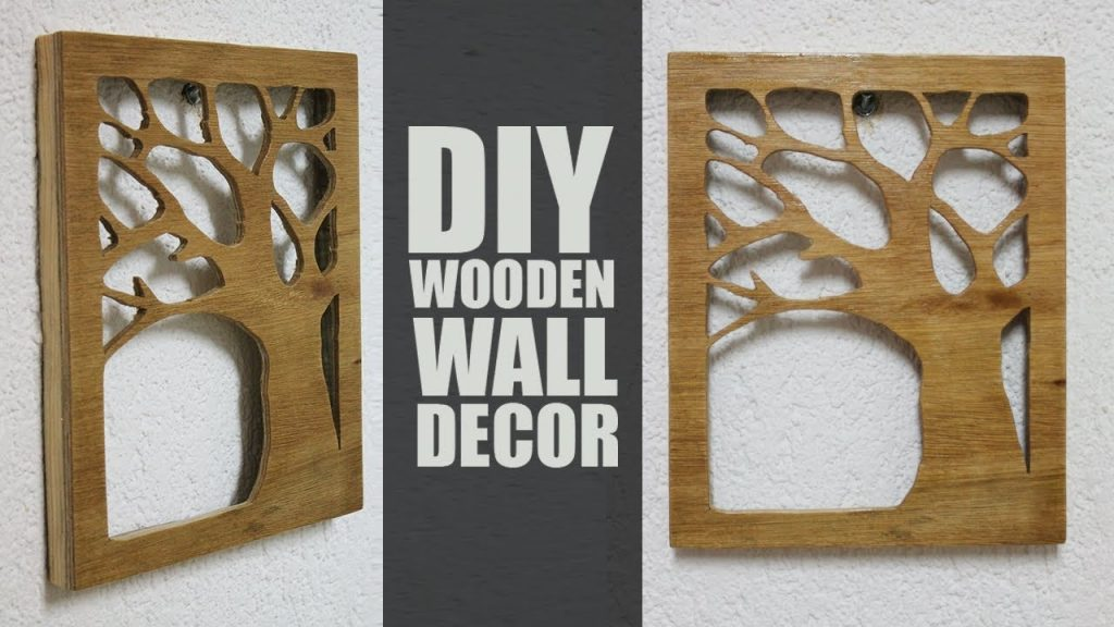 diy wood wall decor