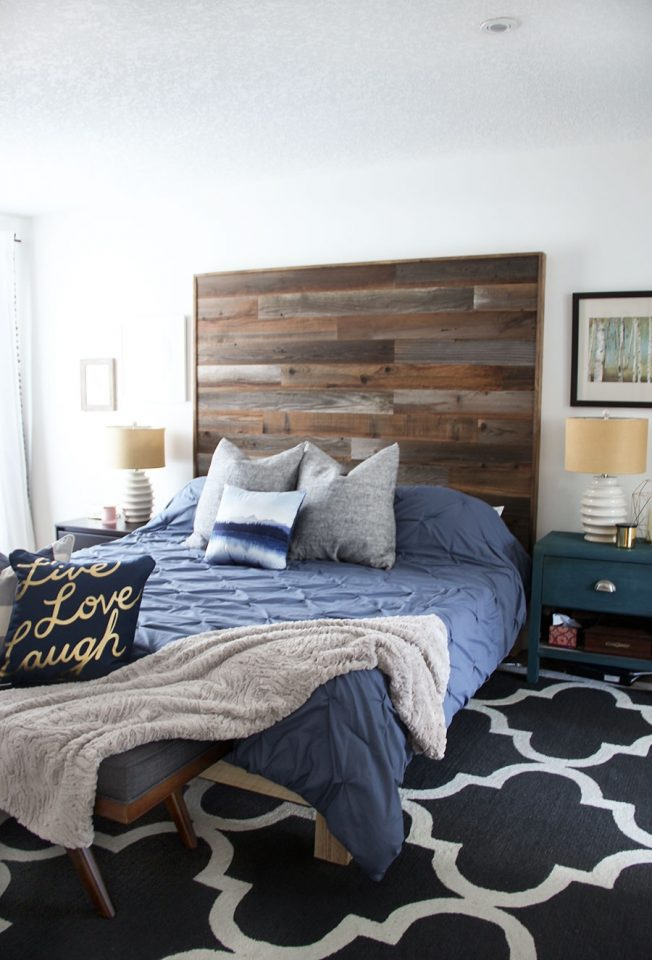modern rustic bedroom decor reveal fresh crush