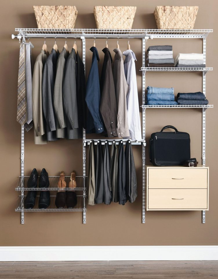 uniform storage ideas for small bedrooms