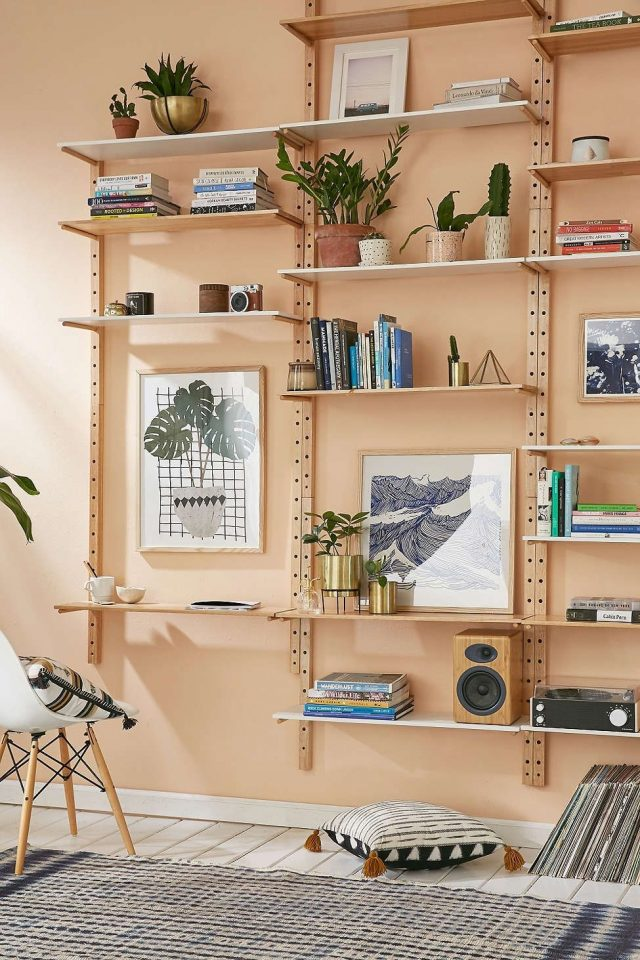 urban outfitters wall shelving units