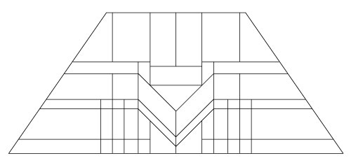 "5202 12"" x 18"" Prairie Lampshade pattern"
