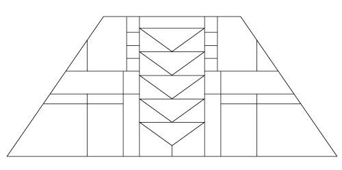 "5401 14"" x 20"" Prairie Lampshade pattern"