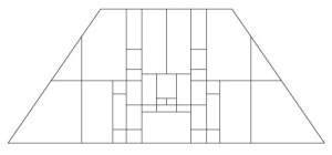 "5403 14"" x 20"" Prairie Lampshade pattern"