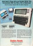 Tandy TRS-80 Model 100 Advertisement