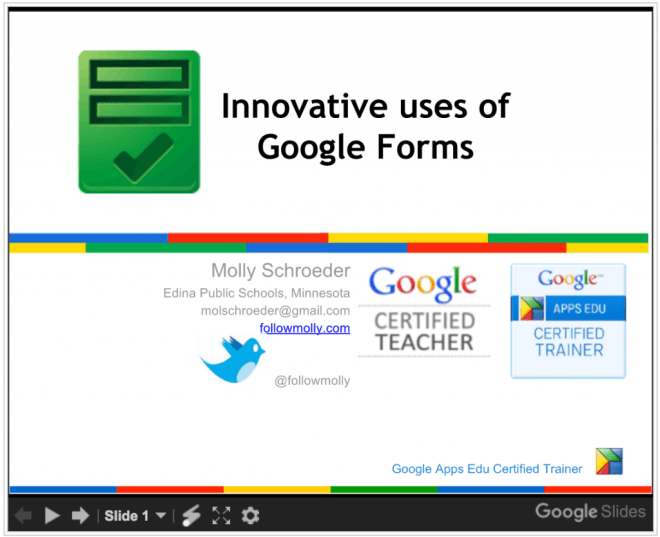 Innovative Ideas for Google Forms