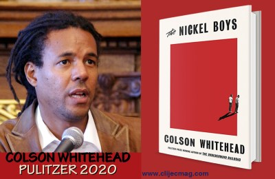 Colson Whitehead  makes it twice