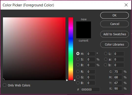 03_Colour Picker - Recolouring in Photoshop