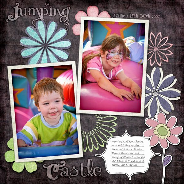 Doodlicious Digital Scrapbook Layout