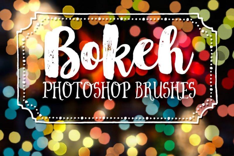 Bokeh Photography Photoshop Brushes