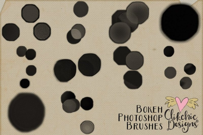 Bokeh Photography Photoshop Brushes