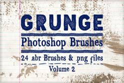 Grunge Photoshop Brushes Volume 2