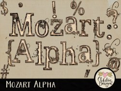 Mozart Digital Scrapbook Alpha