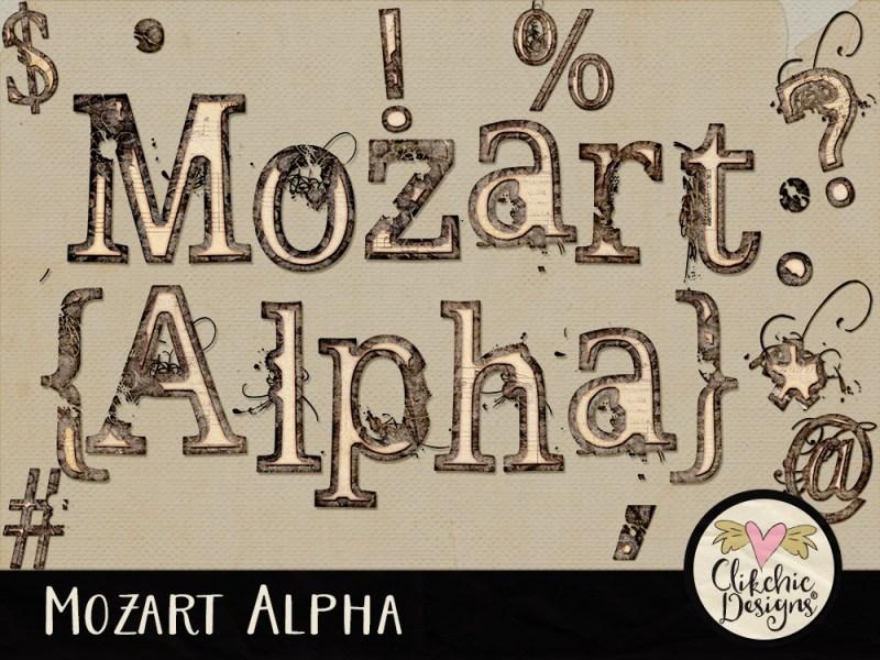 Mozart Digital Scrapbook Alpha