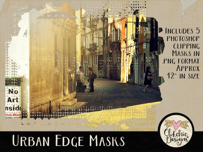 Urban Edge Photoshop Clipping Masks