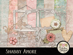 Shabby Amore Digital Scrapbook Kit