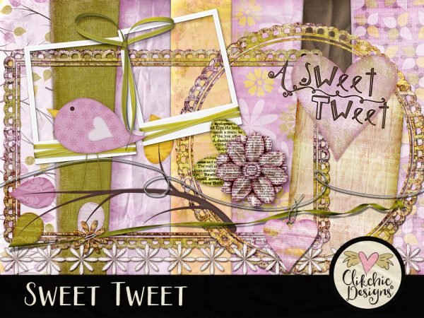 Sweet Tweet Digital Scrapbook Kit