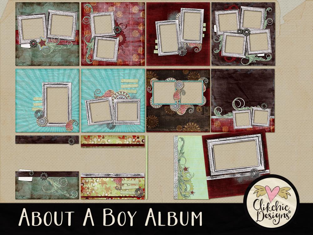 About A Boy Quick Page Album
