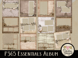P365 Essentials Digital Scrapbook Quick Page Album