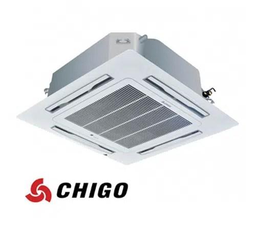 Инверторен климатик Chigo касетен тип CCA-60HVR1 на ВИП цена от Clima.VIP