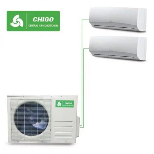 Външно тяло за мултисплит система CHIGO C2OU-18HVR1 на ВИП цена от Clima.VIP