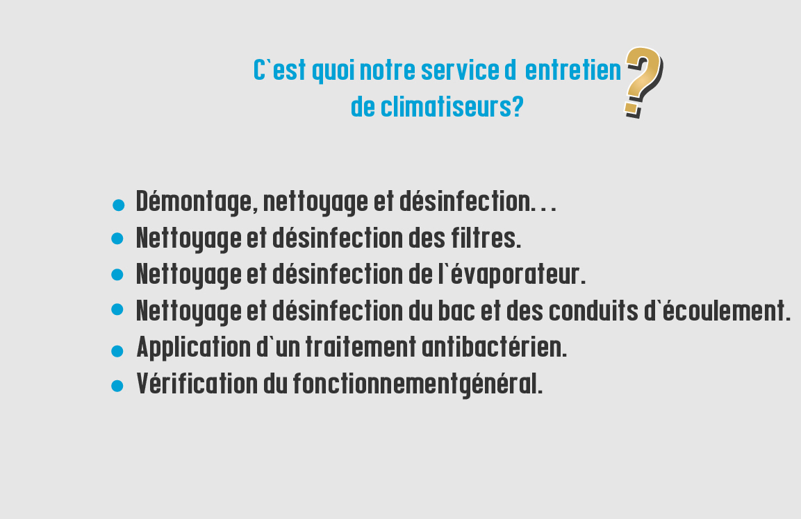 nettoyage climatiseur montreal