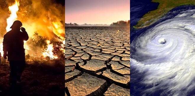 Los efectos del cambio climático son siempre extremos
