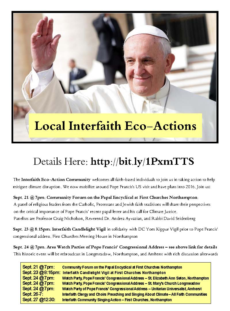 Interfaith EcoAction events