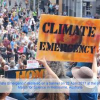 There is a Climate Emergency Going On, Rapid Response Needed
