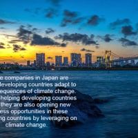 Climate Adaptation Best Practices of Japan Impacts Developing Countries
