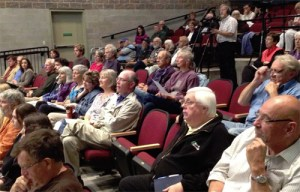 Some of the participants in Sustainable North Grenville's September 18 Pipeline Information meeting.