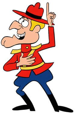 Dudley Do-Right is doing wrong, again