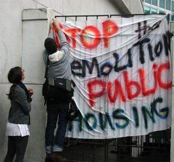 katrina housing banner