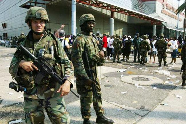 Katrina Soldiers