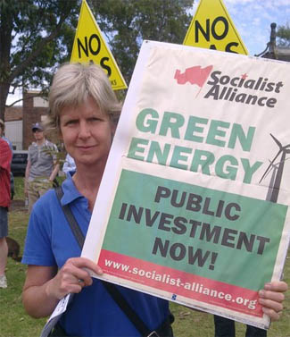 Pip Hinman is a member of the Socialist Alliance in Sydney, Australia