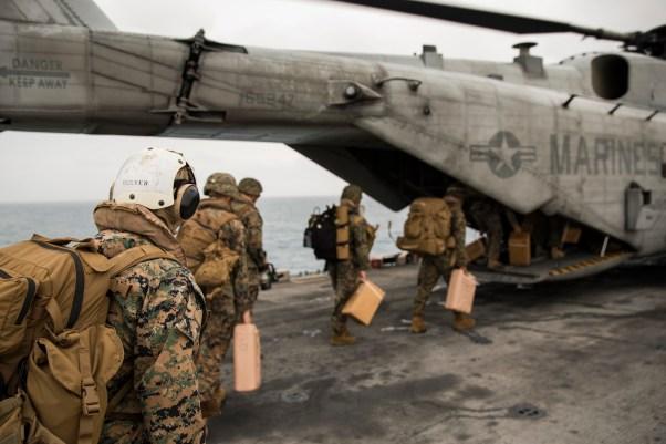 26th MEU, USS Kearsarge support Hurricane Maria relief efforts