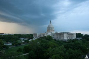 This image has an empty alt attribute; its file name is rain_on_capitol_hill.jpg
