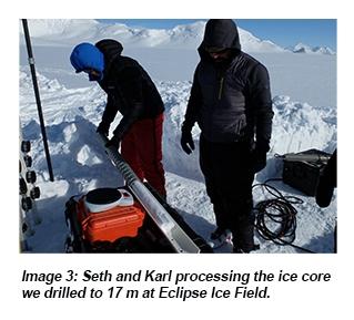 Eclipse Ice Field 2017