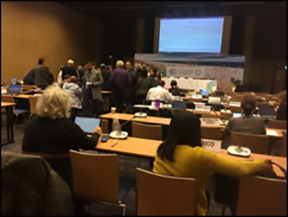 Countries huddle to discuss how to talk about the Special Report on 1.5°C Warming in Katowice, Poland.