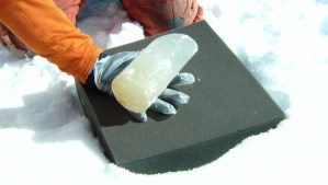 Photo of Ice Core Sample.