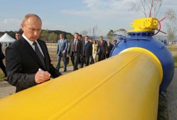 putin gas pipeline