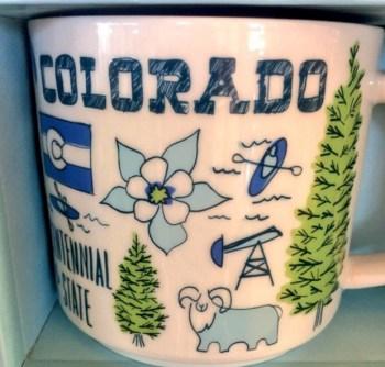 starbucks colorado mug