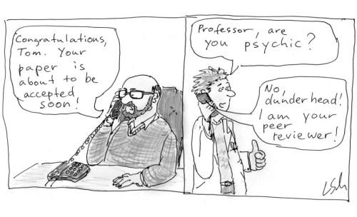 cartoon peer review boss
