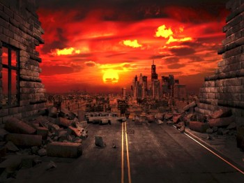 earth end times disaster scorched